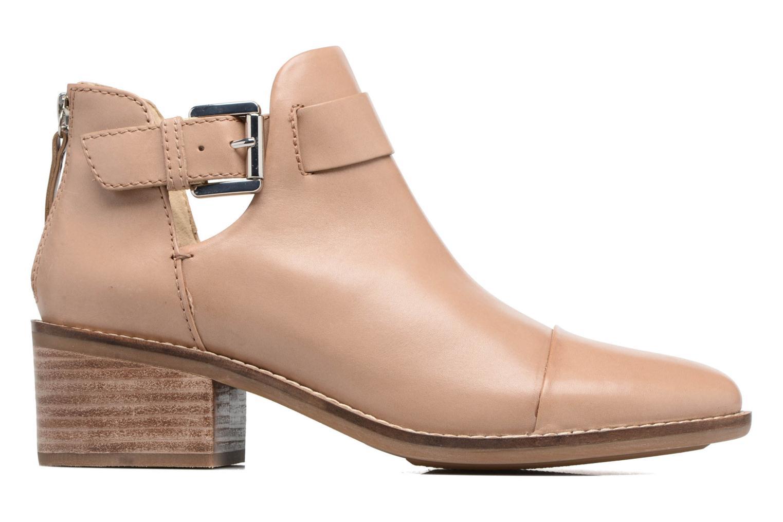 Boots en enkellaarsjes Geox D NEW TWINKA B Beige achterkant