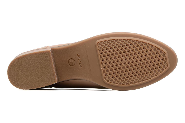 Boots en enkellaarsjes Geox D NEW TWINKA B Beige boven