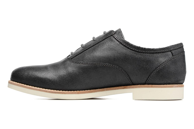 Chaussures à lacets Geox D PROMETHEA B Noir vue face
