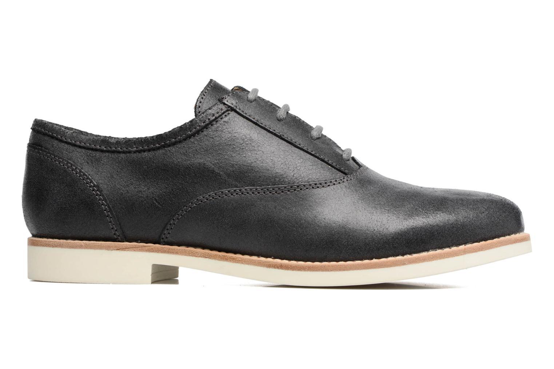 Chaussures à lacets Geox D PROMETHEA B Noir vue derrière