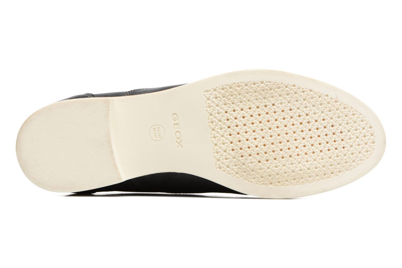 Chaussures à lacets Geox D PROMETHEA B Noir vue haut