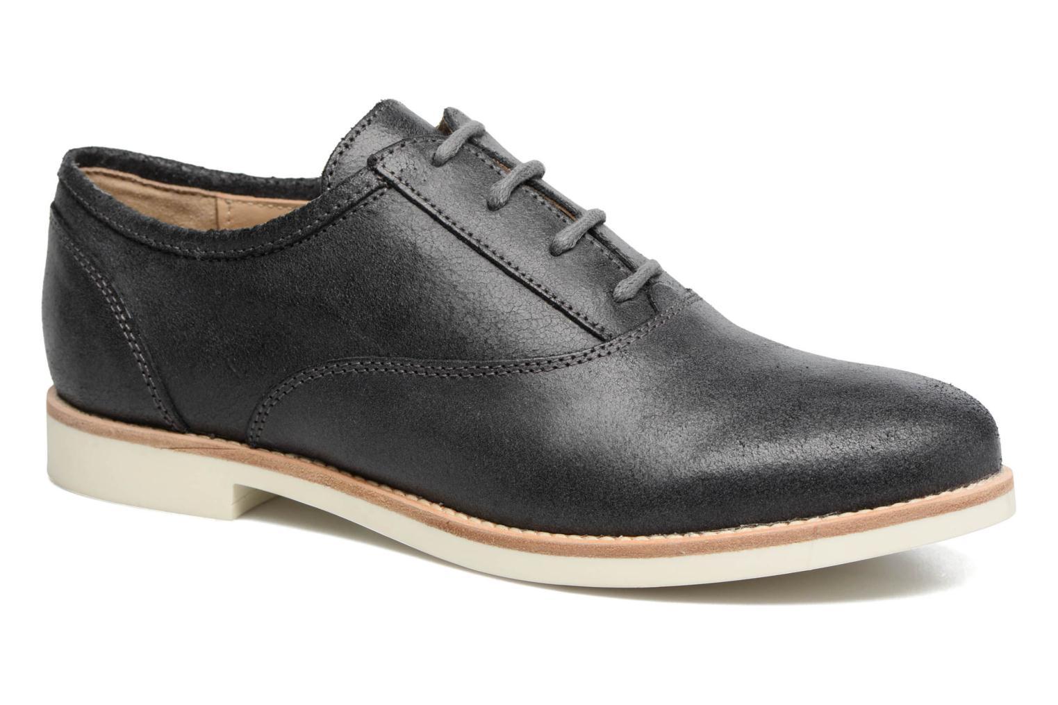Chaussures à lacets Geox D PROMETHEA B Noir vue détail/paire