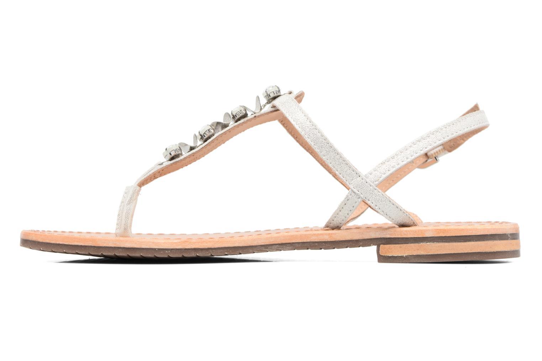 Sandales et nu-pieds Geox D SOZY C Argent vue face