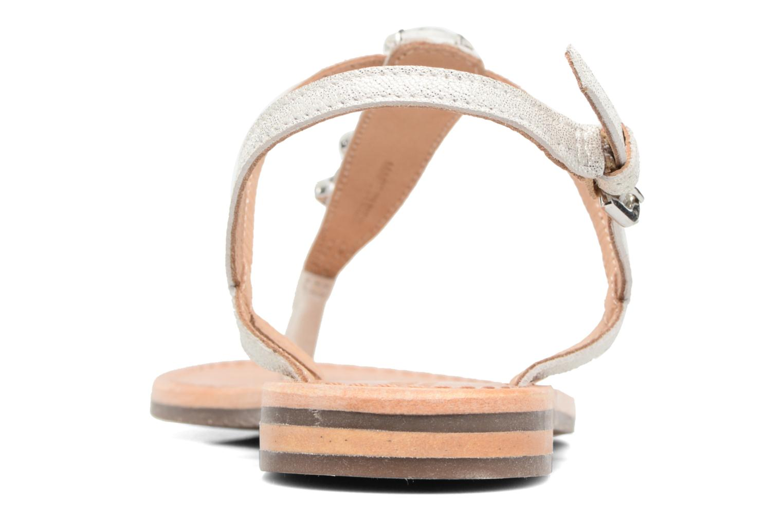 Sandales et nu-pieds Geox D SOZY C Argent vue droite