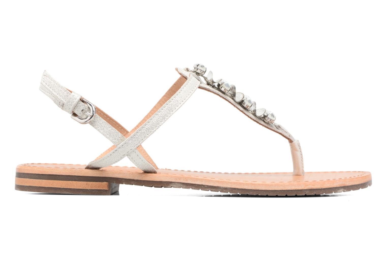 Sandales et nu-pieds Geox D SOZY C Argent vue derrière