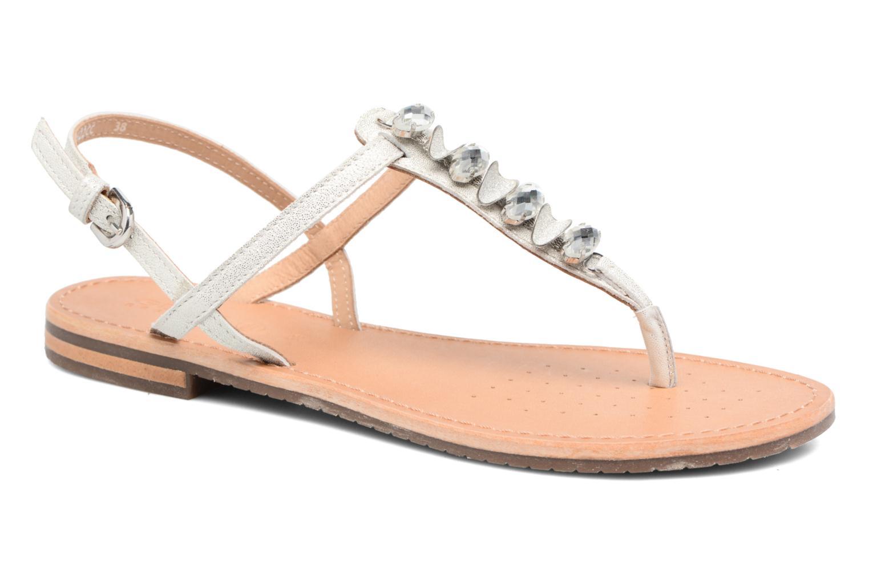 Sandales et nu-pieds Geox D SOZY C Argent vue détail/paire