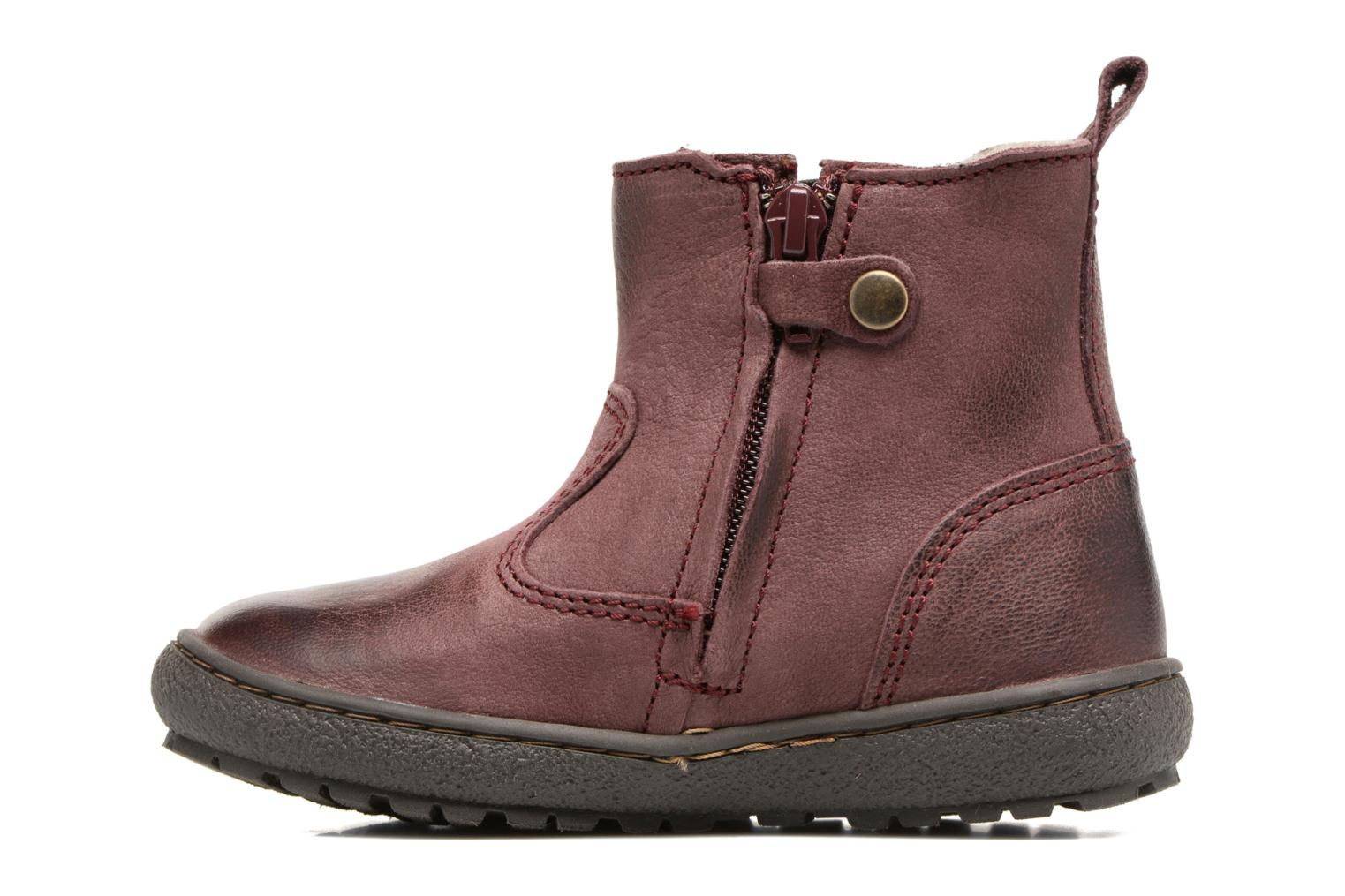 Bottines et boots Bisgaard Aurelia Bordeaux vue face