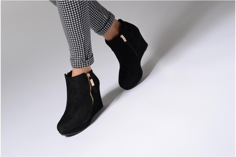 Bottines et boots Xti Jiny Noir vue bas / vue portée sac
