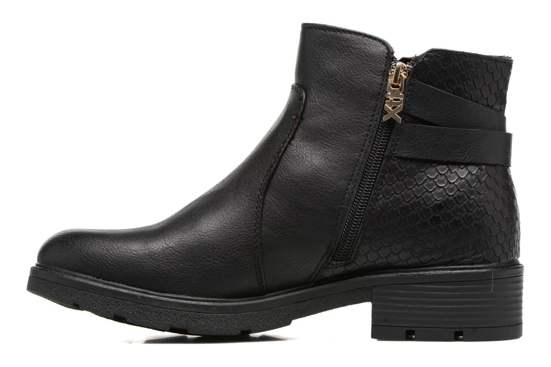 Bottines et boots Xti Ioni Noir vue face