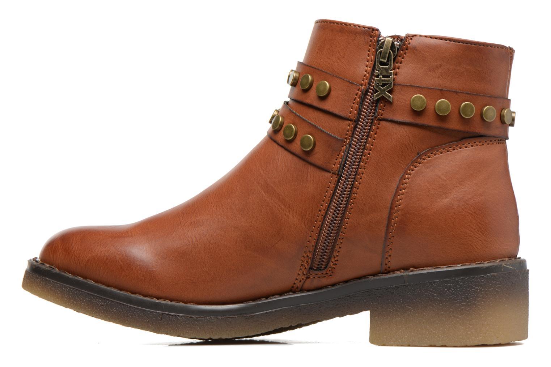 Boots en enkellaarsjes Xti Teki Bruin voorkant