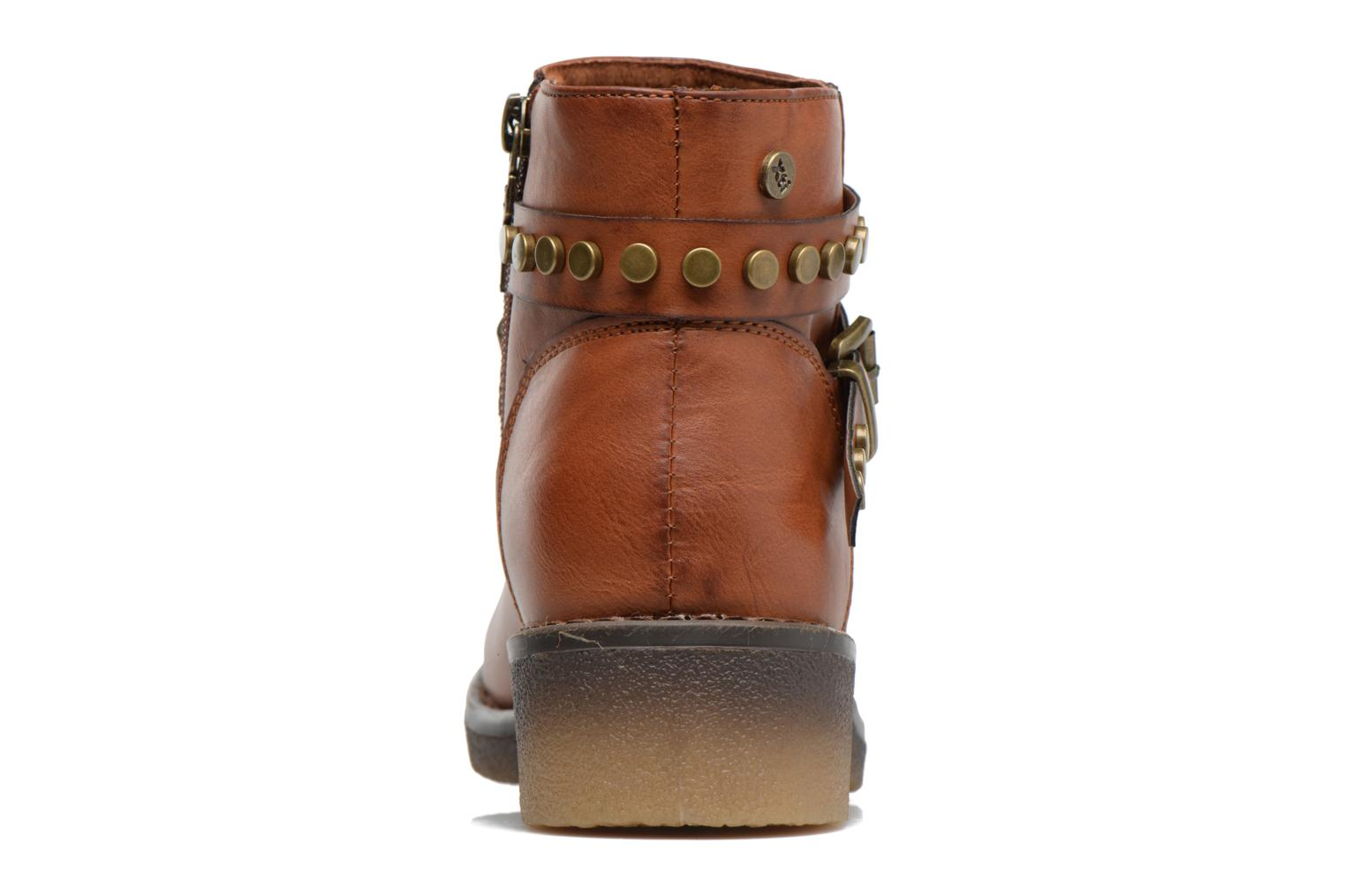 Ankle boots Xti Teki Brown view from the right