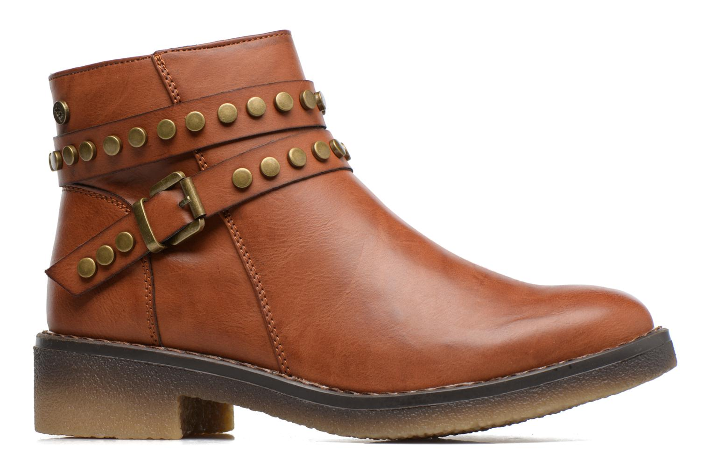 Ankle boots Xti Teki Brown back view