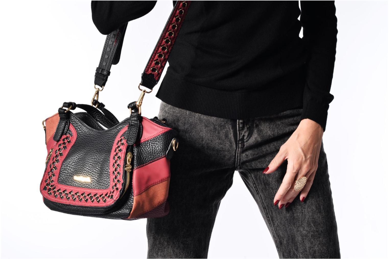 Rotterdam Mini Juno Handbag Granate medio