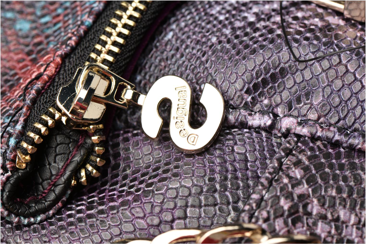 Sacs à main Desigual Loverty Ka Crossbody Violet vue gauche