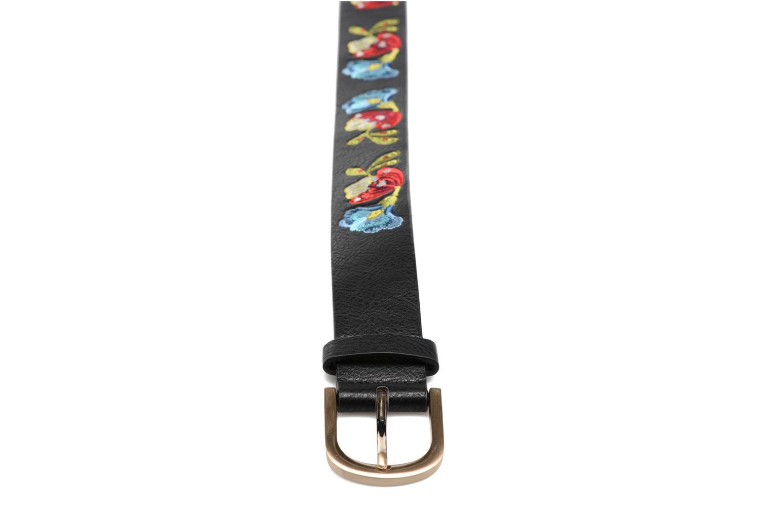 Embroidered Belt Caribu Negro