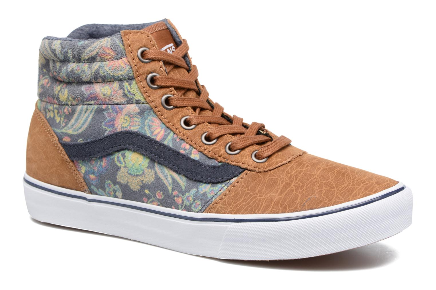 Milton Hi W (MTE Flower Suede) Brown