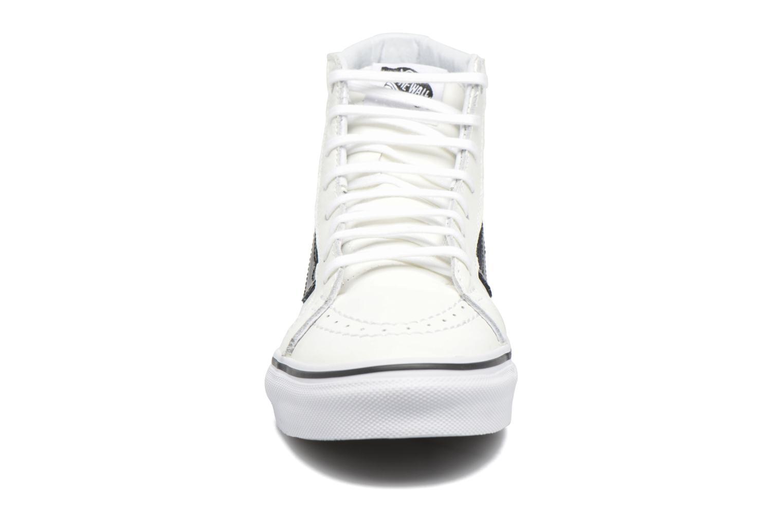 Baskets Vans SK8-Hi Slim Cutou Blanc vue portées chaussures