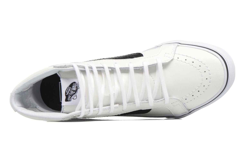 Baskets Vans SK8-Hi Slim Cutou Blanc vue gauche
