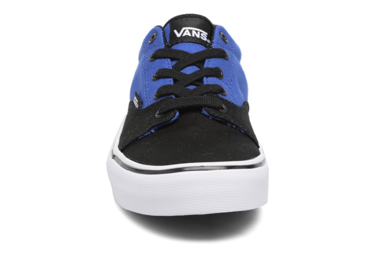 Baskets Vans Kress K Bleu vue portées chaussures