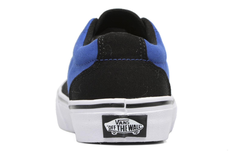 Baskets Vans Kress K Bleu vue droite
