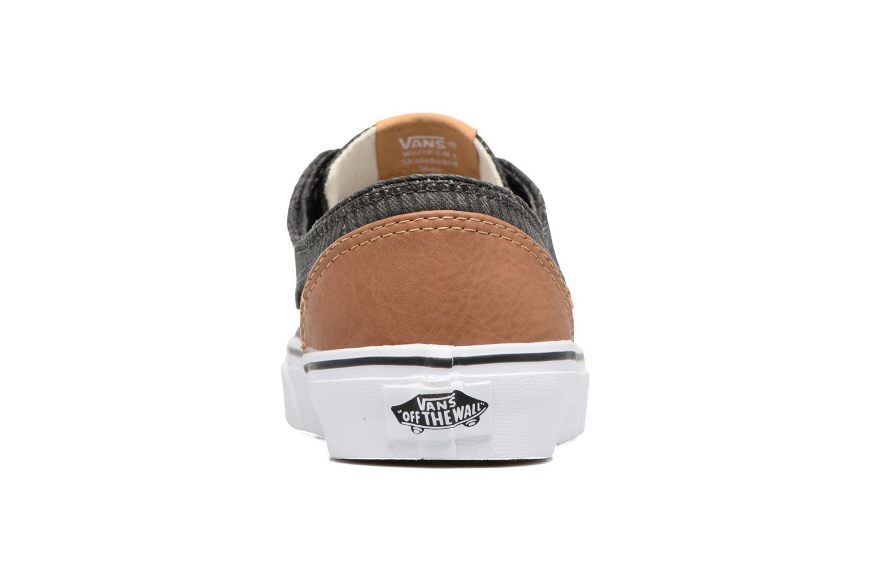 Sneaker Vans Brigata W grau ansicht von rechts