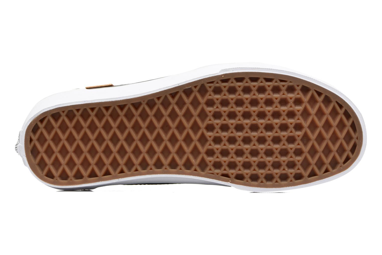 Sneaker Vans Brigata W grau ansicht von oben