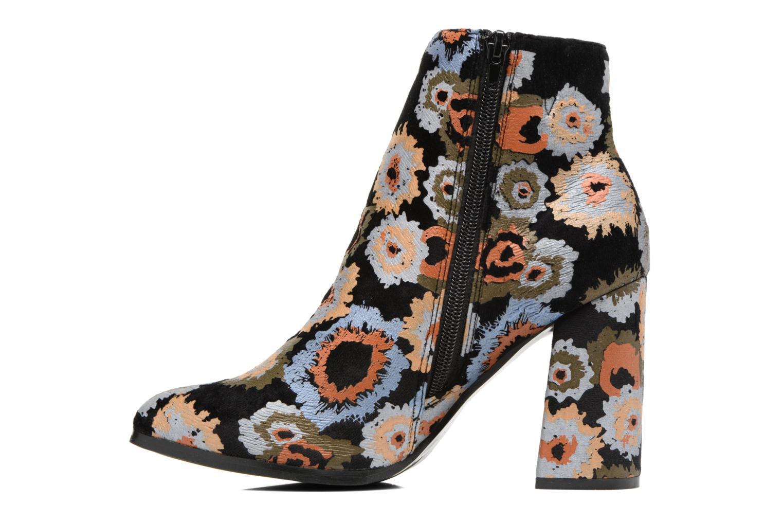 Bottines et boots Divine Factory Rocna Multicolore vue face
