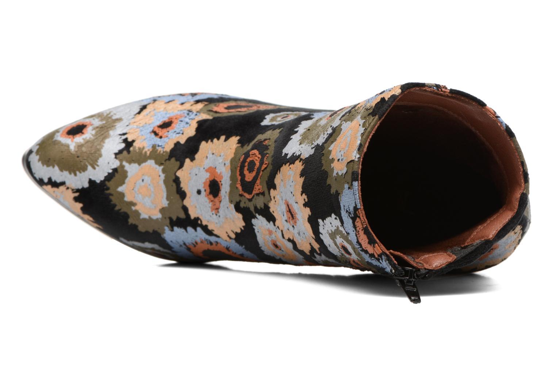 Bottines et boots Divine Factory Rocna Multicolore vue gauche