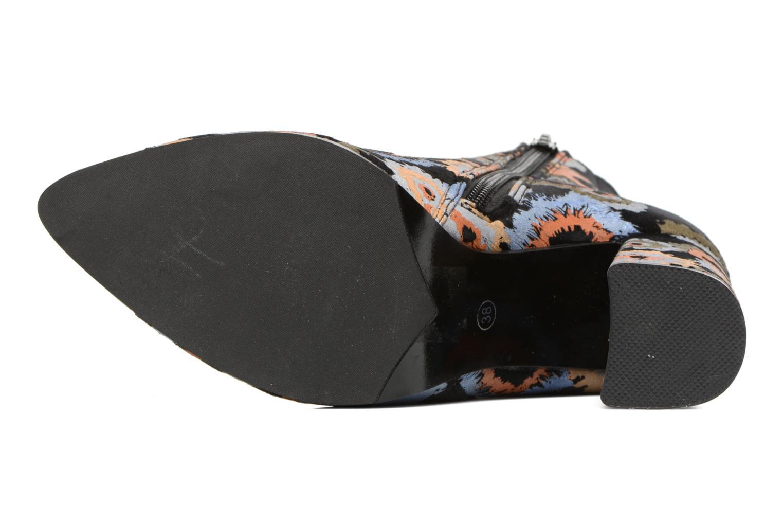 Bottines et boots Divine Factory Rocna Multicolore vue haut