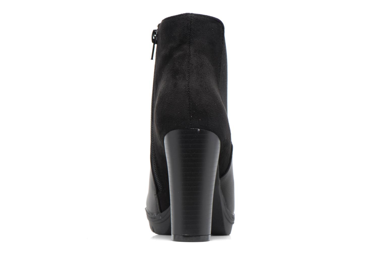 Bottines et boots Divine Factory Soon Noir vue droite