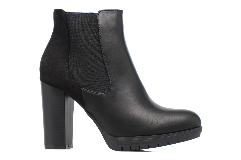 Bottines et boots Divine Factory Soon Noir vue derrière