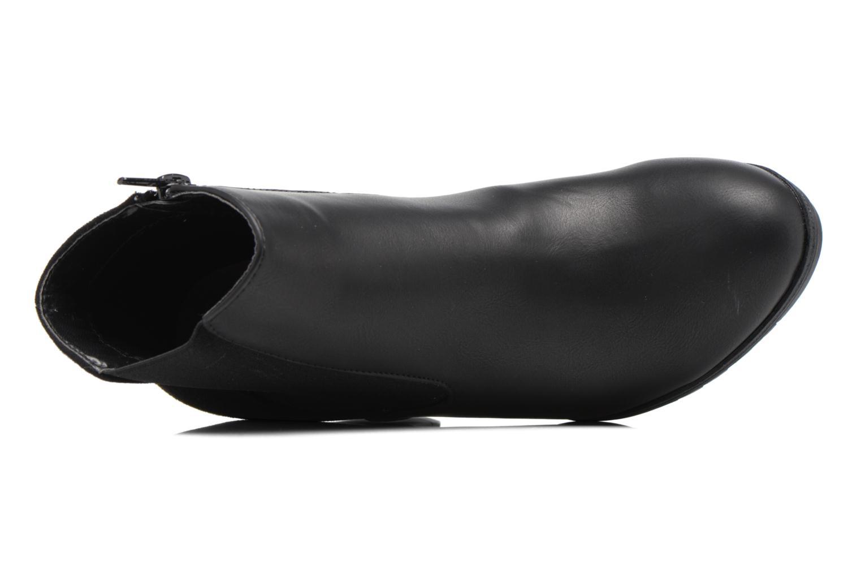 Bottines et boots Divine Factory Soon Noir vue gauche