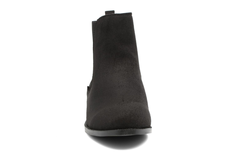 Bottines et boots Divine Factory Divny Noir vue portées chaussures