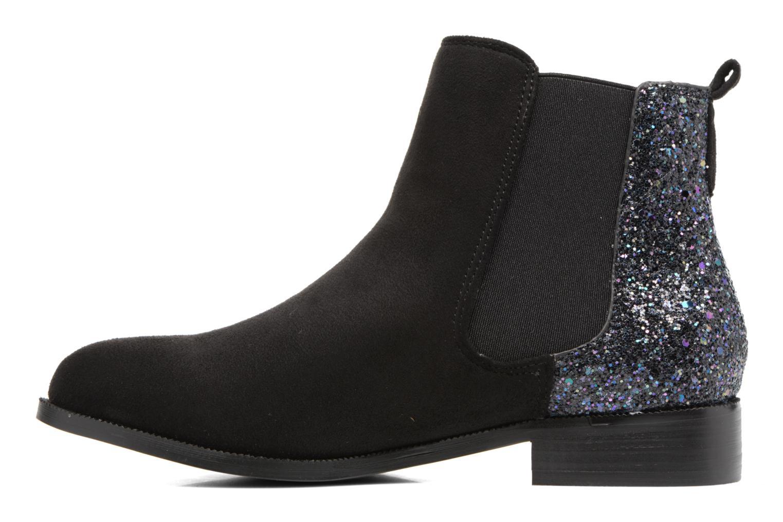 Bottines et boots Divine Factory Divny Noir vue face