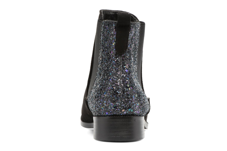 Bottines et boots Divine Factory Divny Noir vue droite