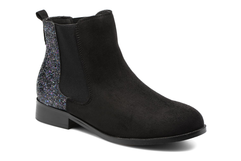 Bottines et boots Divine Factory Divny Noir vue détail/paire