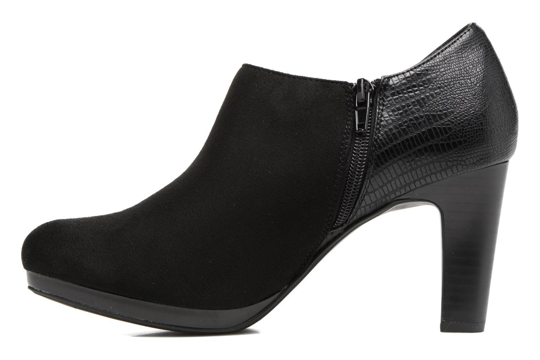 Bottines et boots Divine Factory Kosny Noir vue face