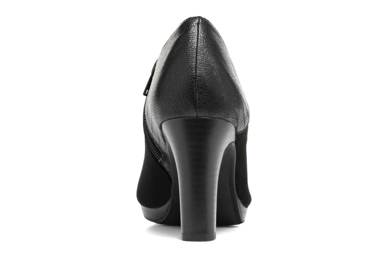 Bottines et boots Divine Factory Kosny Noir vue droite