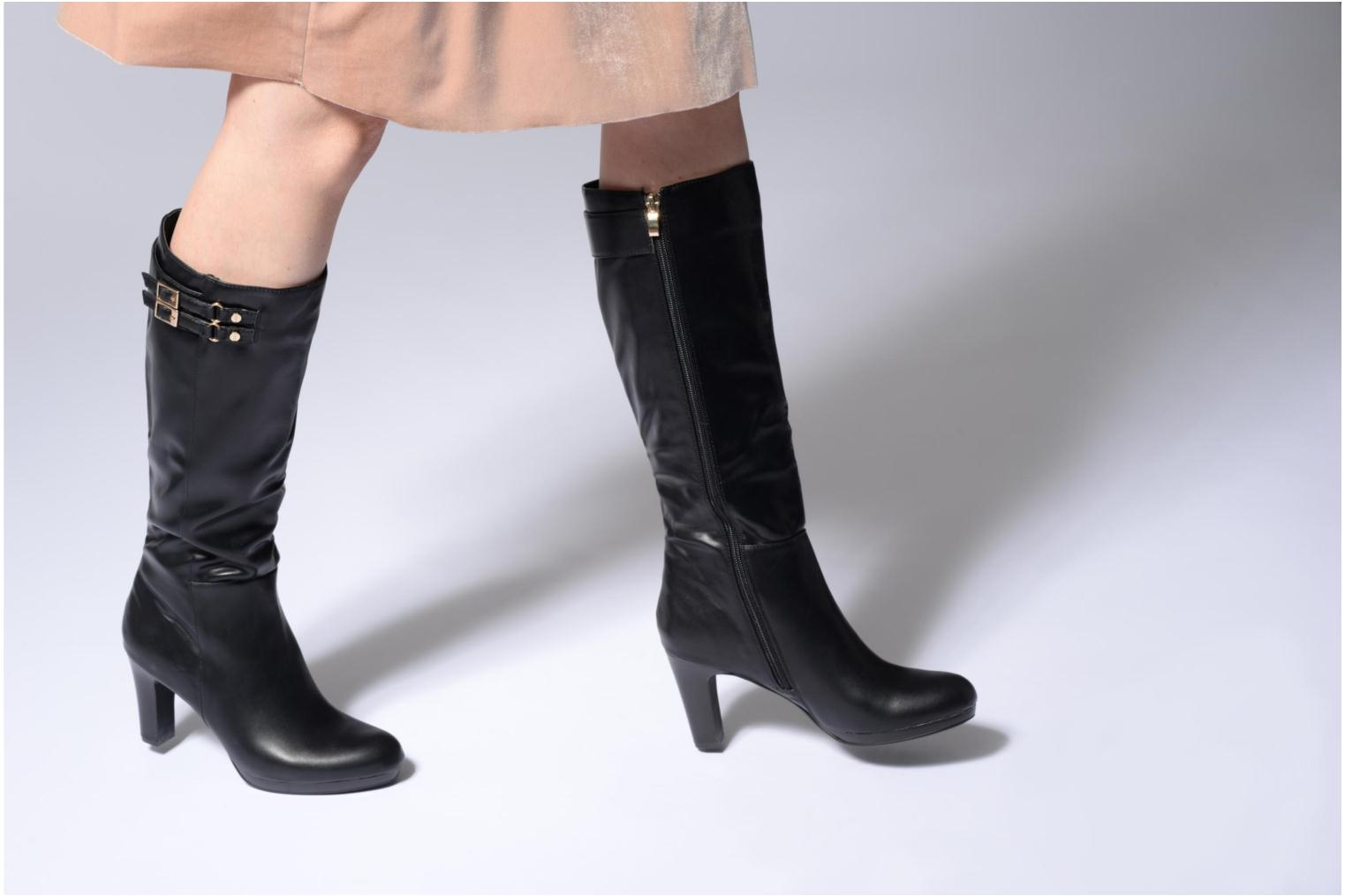 Boots & wellies Divine Factory Suny Black view from underneath / model view