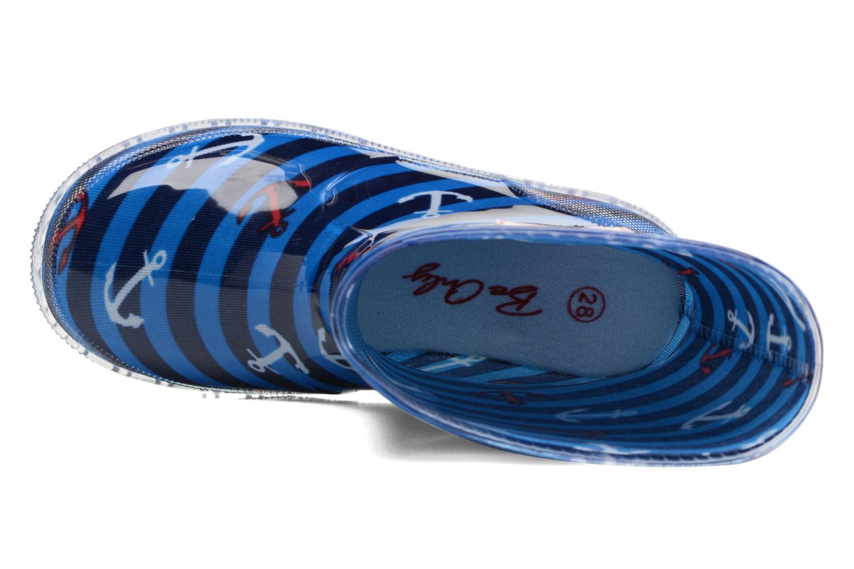 Bottes Be Only Brieu Flash Bleu vue gauche