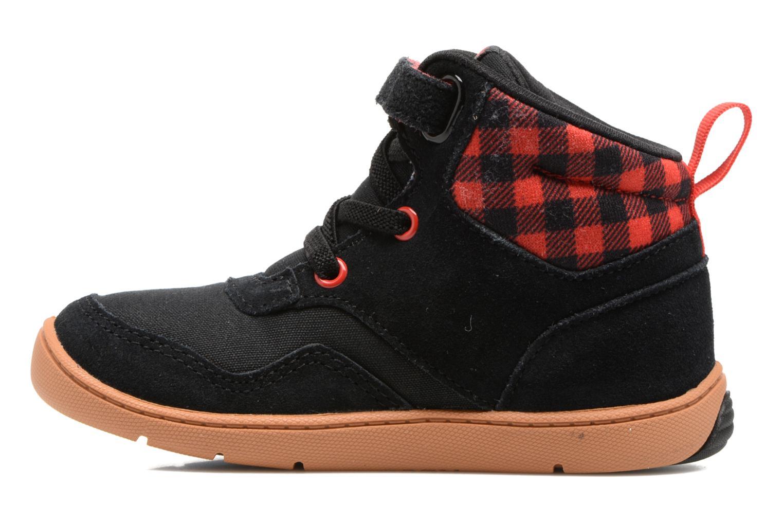 Baskets Reebok Ventureflex Sneaker Boot Noir vue face