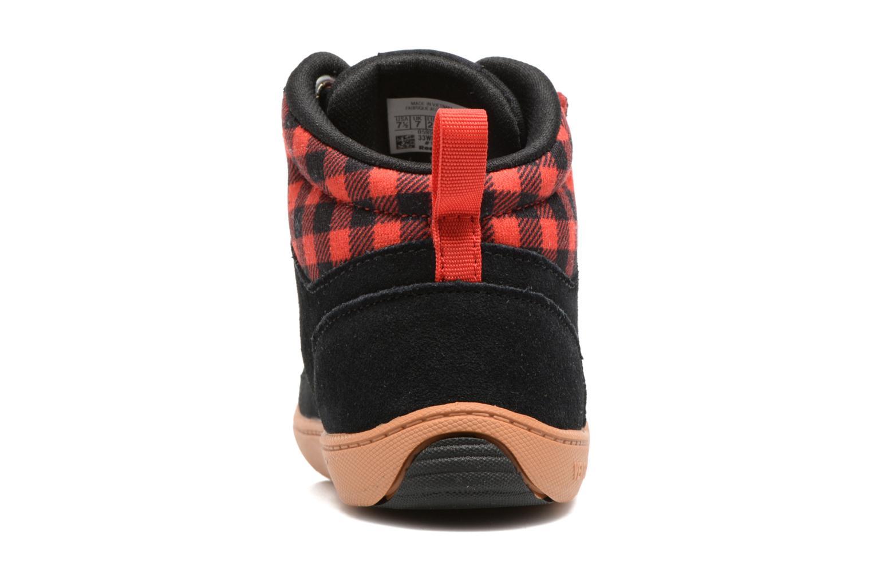 Baskets Reebok Ventureflex Sneaker Boot Noir vue droite