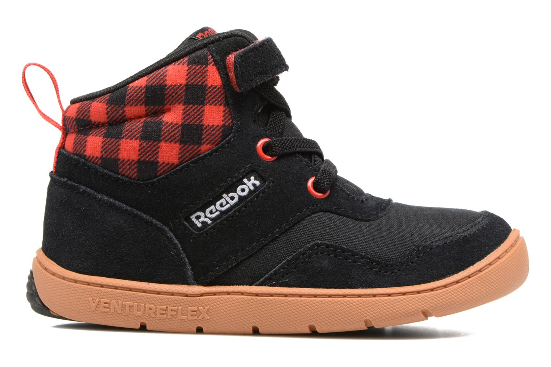 Baskets Reebok Ventureflex Sneaker Boot Noir vue derrière