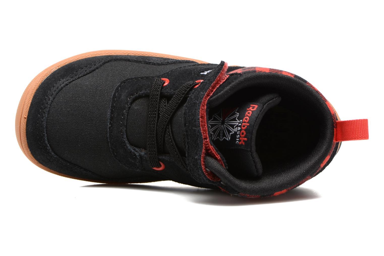 Baskets Reebok Ventureflex Sneaker Boot Noir vue gauche