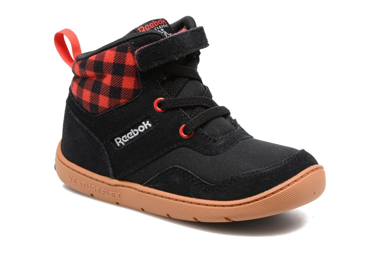 Baskets Reebok Ventureflex Sneaker Boot Noir vue détail/paire