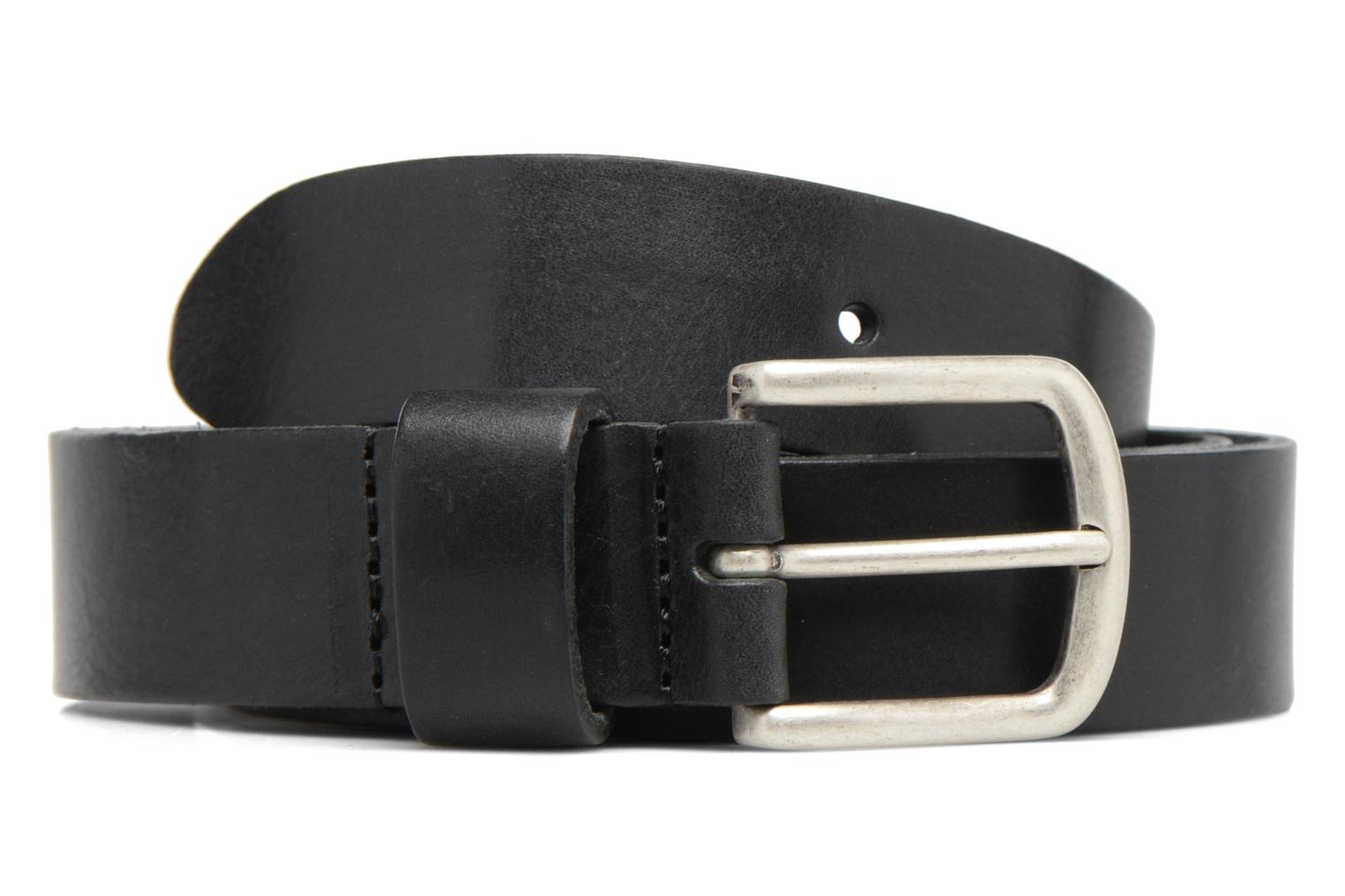 Vintage Leather Belt 30mm Black