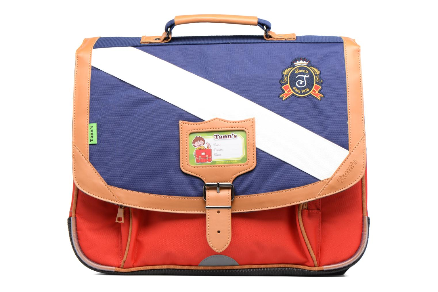 Cartable 38cm Polo Bleu/Rouge