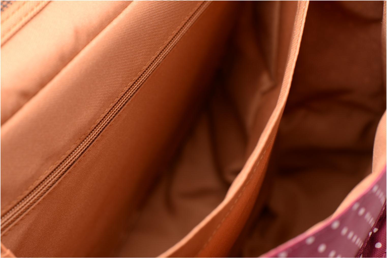 Scolaire Tann's Cartable 38cm Pois Bordeaux vue derrière