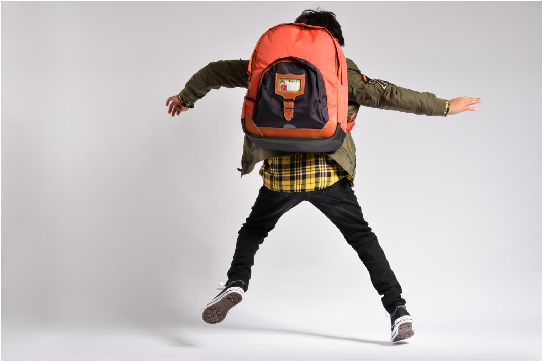Scolaire Tann's Sac à dos L Iconic Orange vue haut
