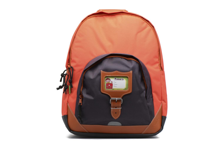 Sac à dos L Iconic Gris/orange